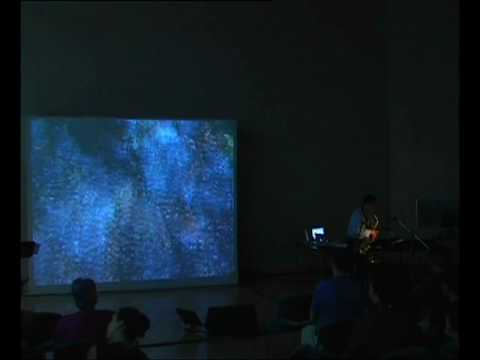 World Saxophone Congress-XV- Voix d'argent -Sax J Hoyo, Composer JL Garcia, Video art O Chatté- 01