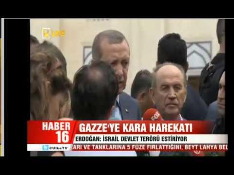 Gaza 2014: Turkish PM Erdogan '' Israel is committing 'state terrorism''