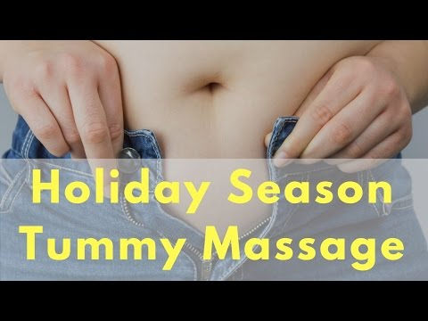 Tummy Massage for the Holidays - Massage Monday #318