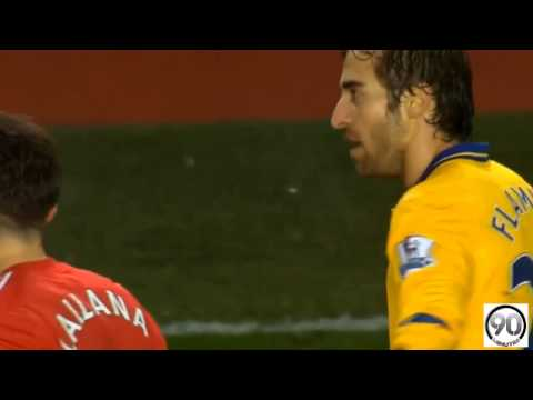 Le carton rouge de Mathieu Flamini - Southampton vs Arsenal (2-2) | Premier League (28/01/2014)