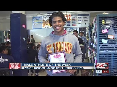 Male Athlete of the Week: Asauni Rufus