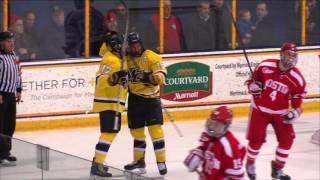 Men's Hockey: Merrimack dominates top-ranked Boston University 3-1