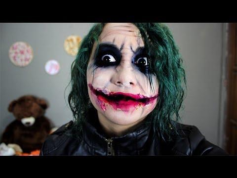 maquillaje the joker ♥ miku , maquillate como el guasón