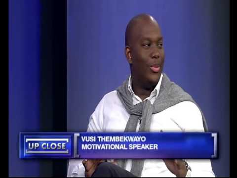 Up Close with Vusi Thembekwayo, 4 November 2013 | Download