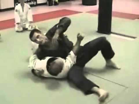 Modified Scarf Hold Armbar Submission - Brazilian Jiu Jitsu Technique