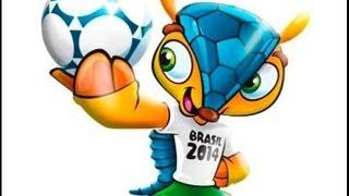 Tatu Bola, La Mascota Del Mundial Brasil 2014