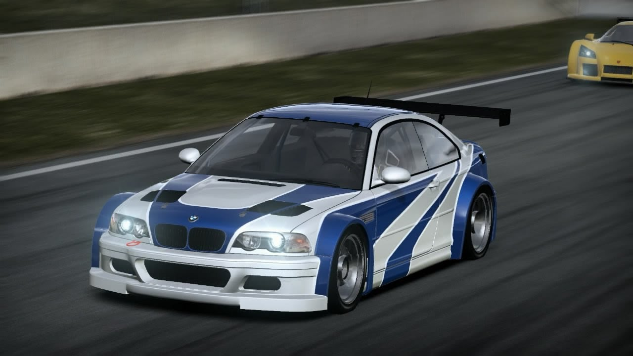 NFS Shift 2 Unleashed: BMW M3 GTR E46 Most Wanted Edition ...