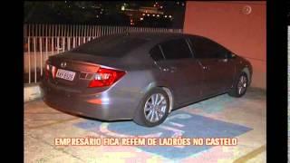 Ladr�es de carro fazem empres�rio ref�m e s�o perseguidos pela PM no Bairro Castelo