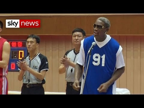 Dennis Rodman Sings Happy Birthday To BFF Kim Jong-Un
