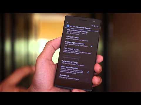 Mở khóa bằng thẻ NFC trên Android