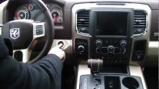 2013 Ram 1500 Laramie Longhorn Interior Video Tour