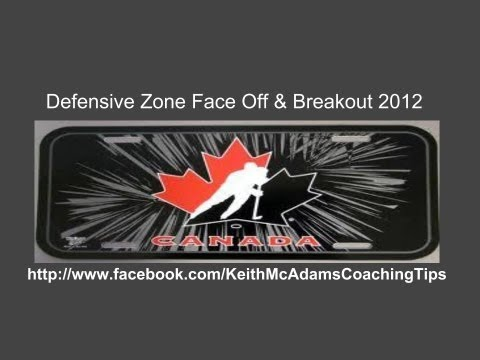 Team Canada Defensive Zone Face Off & Breakout 2012