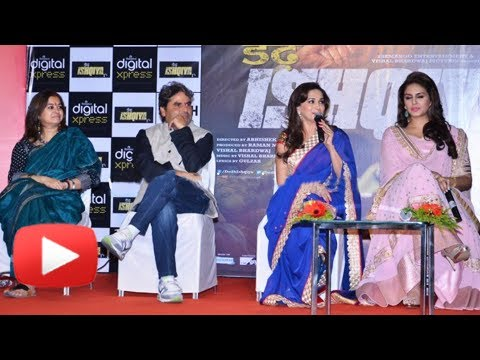 Madhuri Dixit Praises Vidya Balan - Must Watch - Dedh Ishqiya Music Launch