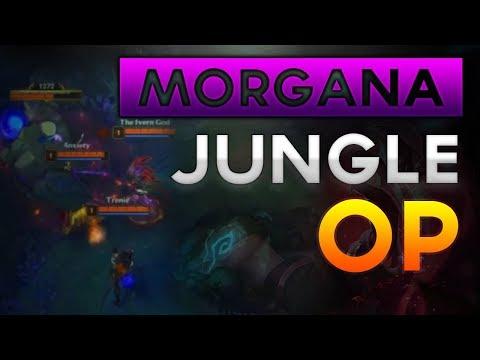 Morgana Jungle is Hidden OP? Quick Morgana Jungle Guide Pre Season 8