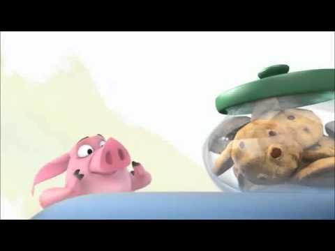 Con lợn tham ăn