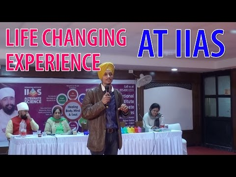 Life Changing Experience at IIAS