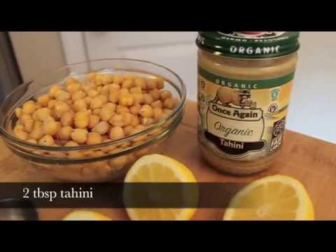 Homemade Healthy Hummus
