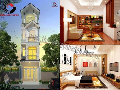 Mẫu thiết kế xây nhà phố đẹp | xây nhà ống 2 tầng | xây nhà ống 1 tầng | xay nha ong trong năm 2014