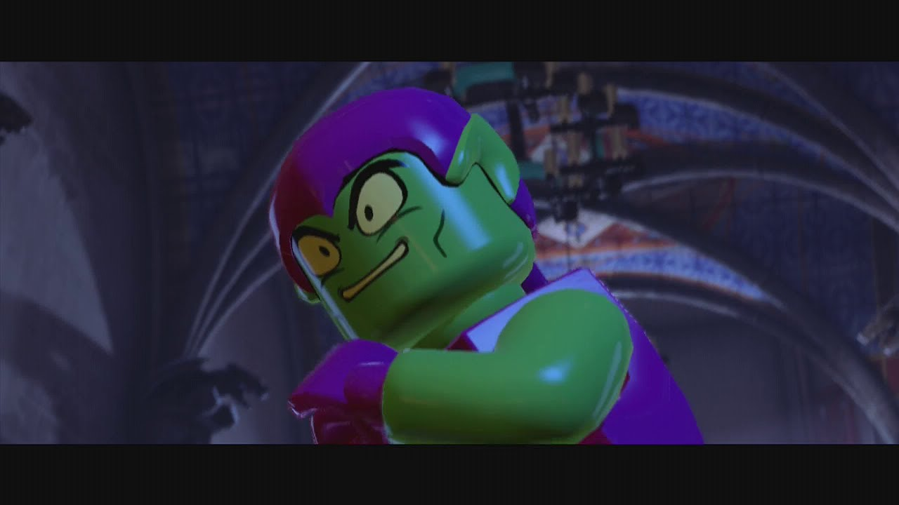 Lego Marvel Super Heroes - Green Goblin Boss Battle HD ...