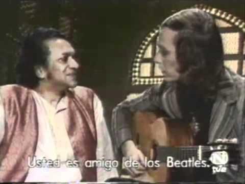 Pt. Ravi Shankar with Paco de Lucia