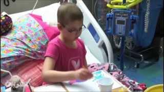 قصة شفاء طفلة من سرطان الدم