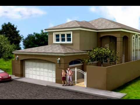 Planos de casas modelo san aaron 01 arquimex planos de for Modelos jardines para casas pequenas