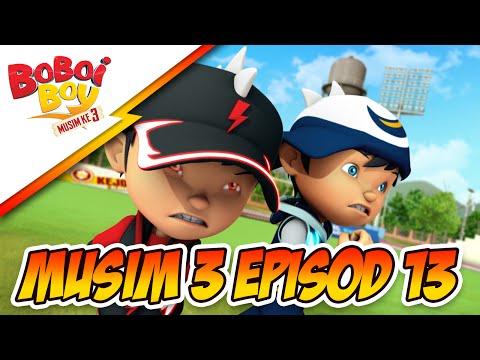 BoBoiBoy Season 3 Episode 13: Adu Du Kembali Jahat