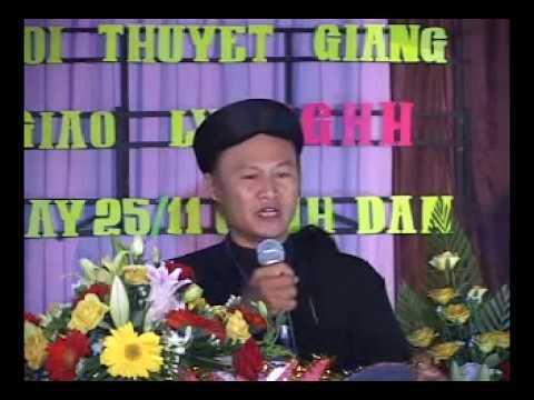 PGHH - Thân thế và sự nghiệp của Đức Huỳnh giáo chủ - GLV Nguyễn Thế Cường