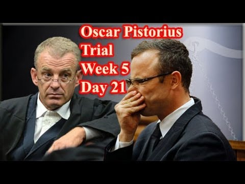 Oscar Pistorius Trial: Friday 11 April 2014, Session 1