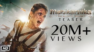 Manikarnika - The Queen Of Jhansi | Official Teaser | Kangana Ranaut | Releasing 25th January