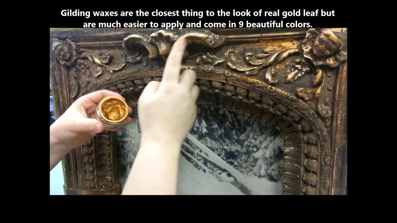 French Gilding Wax How To Apply It Youtube