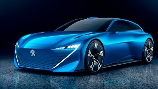 Peugeot Instinct Concept – Future Shooting Brake. YouCar Car Reviews.