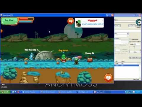 Hack Ngọc Rồng Online trên PC by Maxhyt