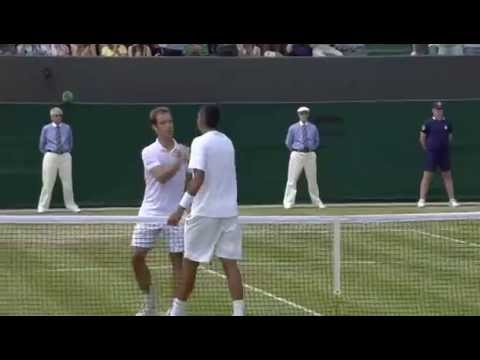 Nick Kyrgios wins five-set epic - Wimbledon 2014