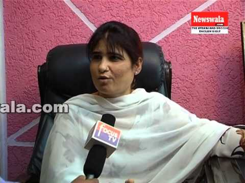 Lady don Farah Khan speaking on women's rights on International Women's Day 2013