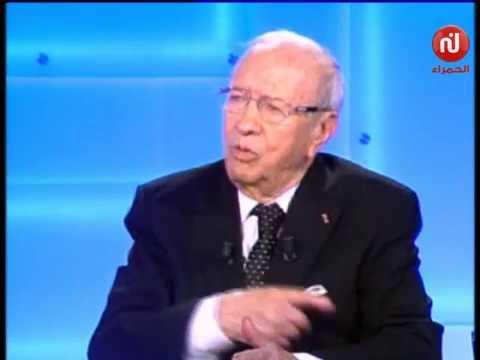 الباجي قائد السبسي  : دافعت على حركة النهضة أمام الثمانية الكبار