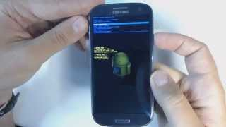 Samsung Galaxy S3 I9300 Hard Reset
