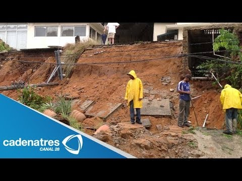 Deslave en Guerrero afecta más de 5 mil habitantes / Runoff in Guerrero affects 5000 people
