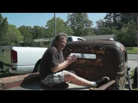 ratrod DIY rear window install