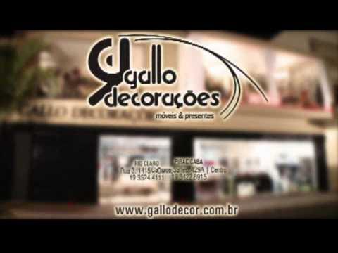 Gallo Decorações - DECOR 2010 - Depoimento Larissa Koelle - www.gallodecor.com.br