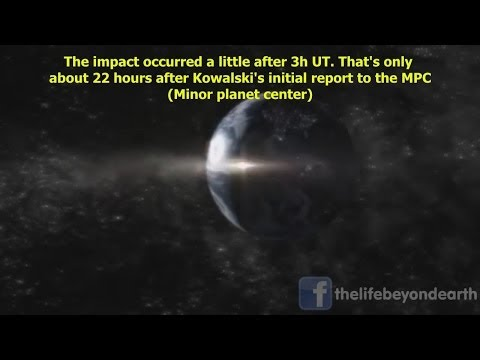 ASTEROID 2014 AA HITS EARTH JUST HOURS AFTER ITS DISCOVERY!! JANUARY 3ND 2013 HD