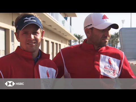 When Golf meets Formula 1™ at the Abu Dhabi HSBC Golf Championship