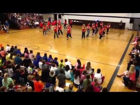 Lineville Intermediate Teacher Flash Mob '13