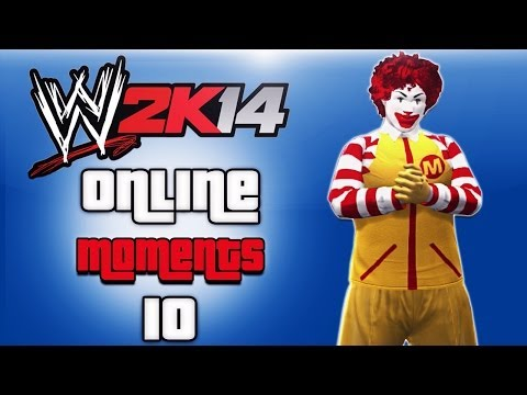 WWE 2K14 Triple Threat Cage match! Happy Meal time!