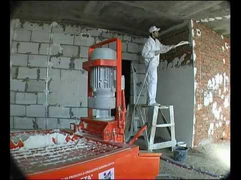 Ściany z tynkiem gipsowym Knauf MP 75
