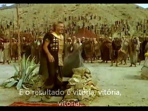 Filme Gideão e os Trezentos Guerreiros- Eliã Oliveira (legendado)