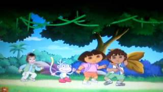 Dora And Diego Photo Personalized DVD ~ Dora The Explorer