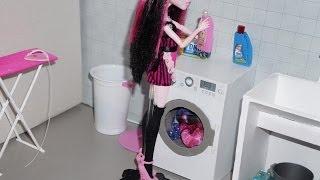 Como Fazer Máquina De Lavar Para Boneca Monster High