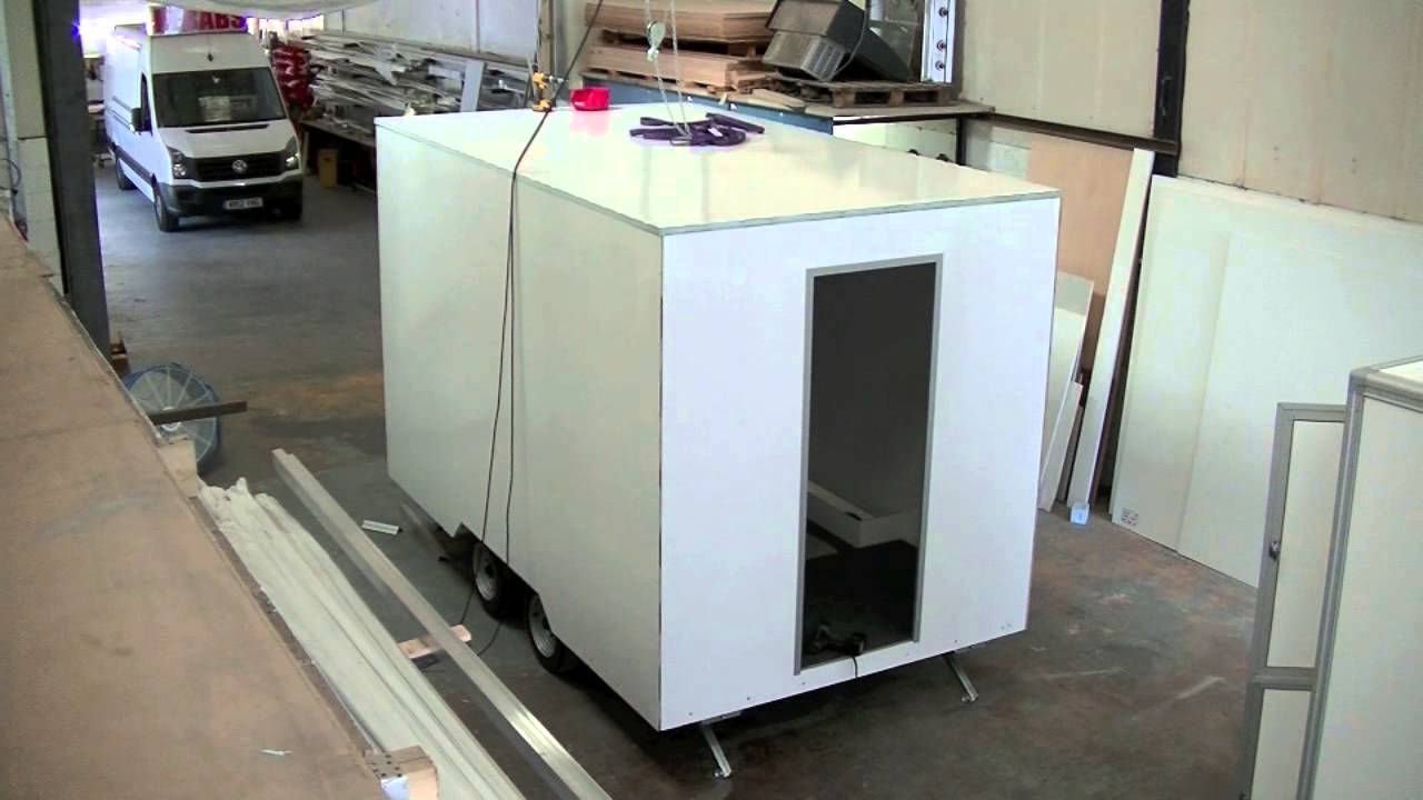 Mobile Trailer Unit : Mobile catering trailer unit manufacture time lapse youtube