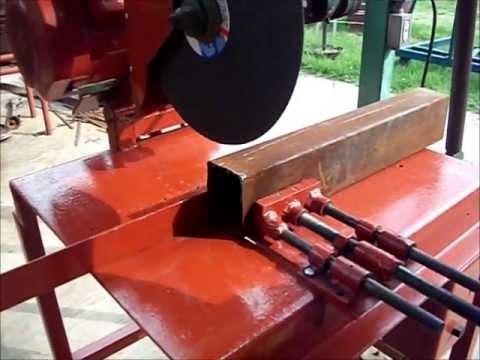Cortando perfiles de acero